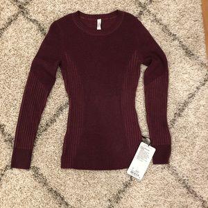 Lululemon Feeling Balanced SweaterSize 8 NWT